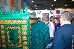 Печем блины в русской печке