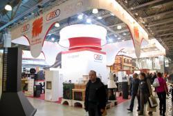 Стенд каминов ABX на выставке мир каминов 2014